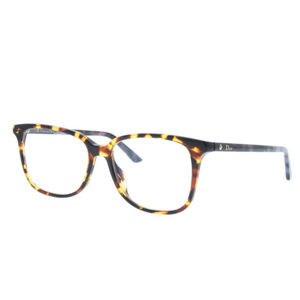 Dior Montaigne27 2A9 Yellow Havana Eyeglasses ODU